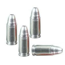Cvičný vybíjací náboj hliníkový 9mm Luger