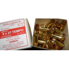 Jatočné náboje Sellier&Bellot 9x27 Tempo st. 5 (50ks)