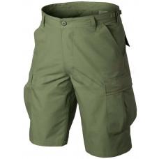 Krátke nohavice Helikon-Tex BDU Cotton Ripstop - Olivovo zelené