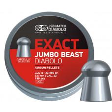 Diabolo JSB Jumbo Exact Beast 5,52 mm 150 ks