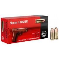 Náboj GECO 9mm Luger FMJ Tombak 8,0g