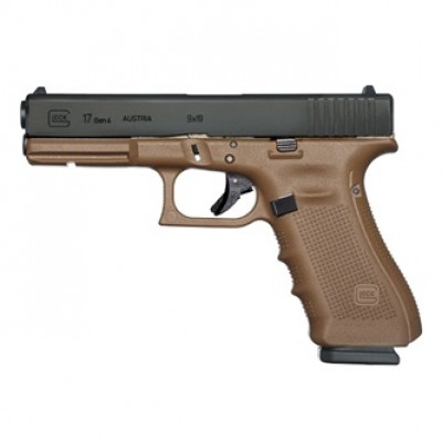 Pištoľ Glock 17 (Gen4) FDE, kal. 9x19mm, Flat Dark Earth
