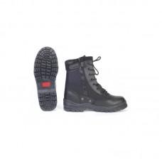Topánky McAllister Patriot, so zipsom, čierne
