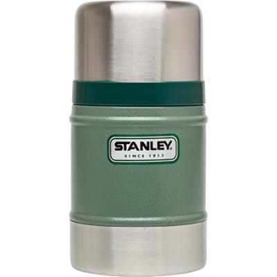 Termoska STANLEY classic na jedlo  0,5 l zelená