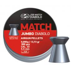 Diabolo JSB Match Jumbo 5,5mm (300ks)