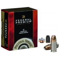 Náboj Federal Personal Defense 10mm Auto JHP Hydra-Shok 180gr/11,66g