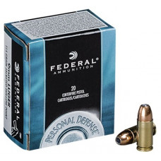Náboj Federal Personal Defense 9mm Luger JHP 115gr/7,45g