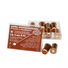 Plynové náboje Wadie OC 9mm revolver 120 mg, 10ks v balení