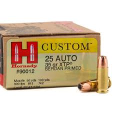 Náboj Hornady 6,35mm Browning XTP® 2,27g/35grs