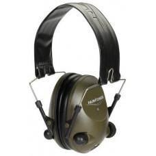 Elektronické chrániče sluchu Acoustic zelené aj baterkami