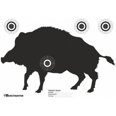 Papierový terč silueta Beast Hunter Boar - diviak