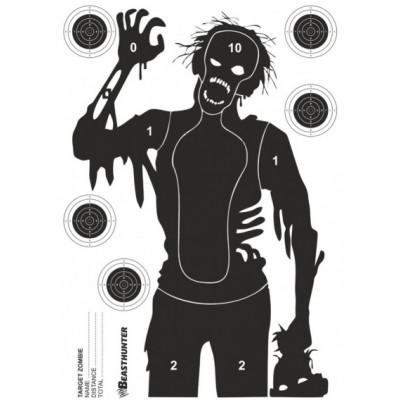 Papierový terč silueta Beast Hunter Zombie