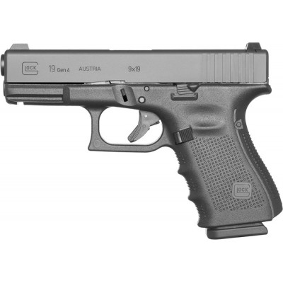 Pištoľ Glock 19 (Gen4), kal. 9x19mm, SET EU