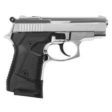 Plynová pištoľ Atak Zoraki 914 Auto, lesklý chrom, kal. 9 mm