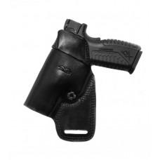 Kožené puzdro, HK P30V3, čierna
